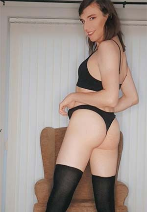 Black lingerie from top to toe in Augusta, ME